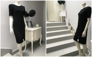 Sukienka BOWERY nr 2 krótki rękaw - 450 PLN