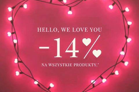 Z okazji Walentynek -14 % na kolekcję Marta Tymoszewicz – Design