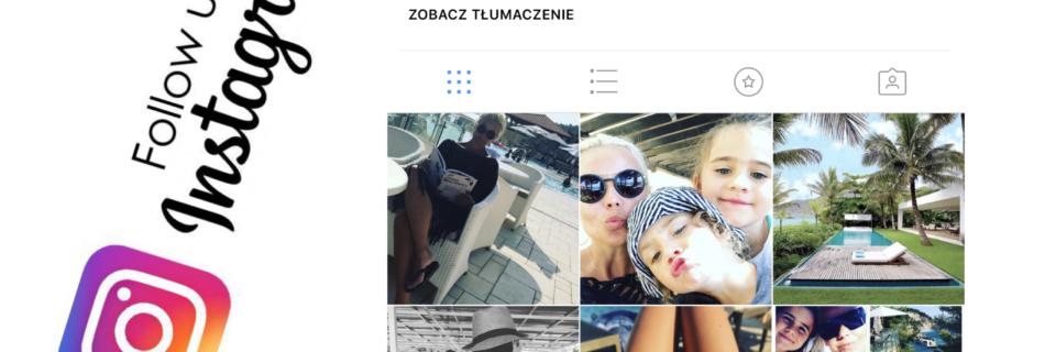 Polub nasze profile na instagramie :)