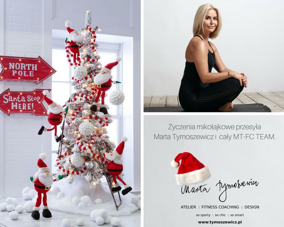 Życzenia mikołajkowe przesyła Marta Tymoszewicz i MT-FC TEAM