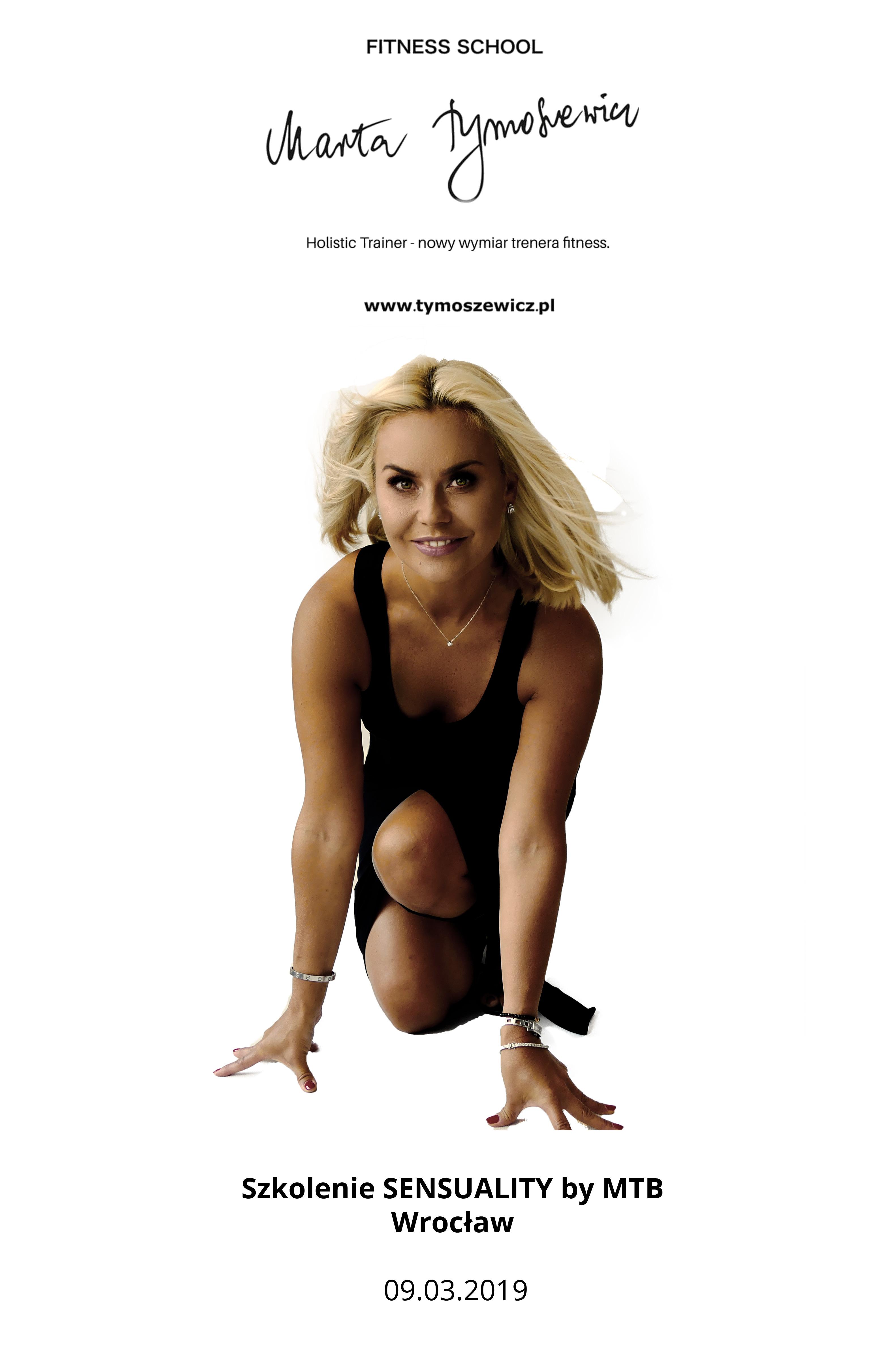 Szkolenie SENSUALITY, marta tymoszewicz, tymoszewicz, fitness school