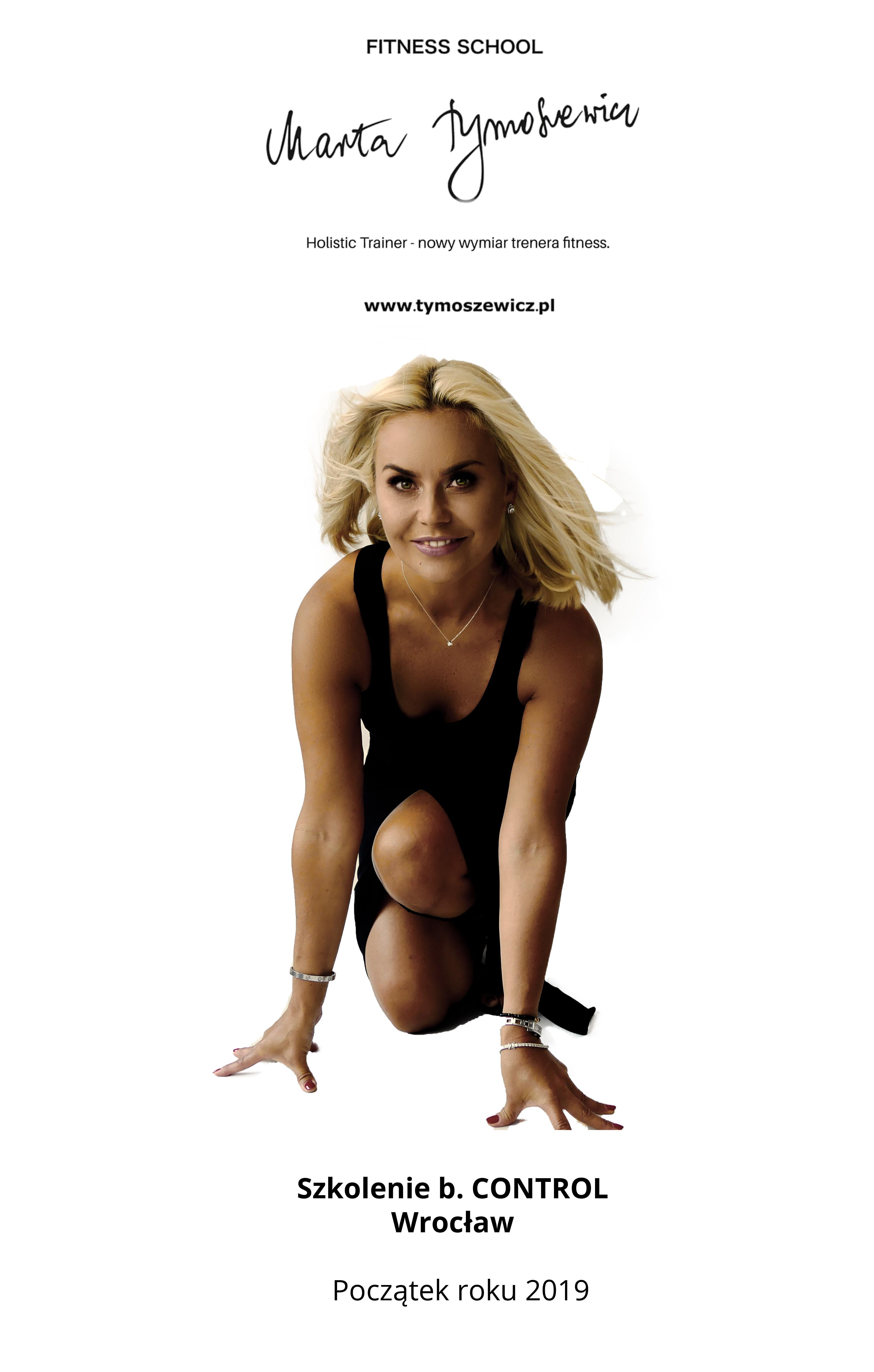 b. CONTROL Marta Tymoszewicz-Bednarz, fitness school, szkolenia dla trenerów fitness, marta tymoszewicz