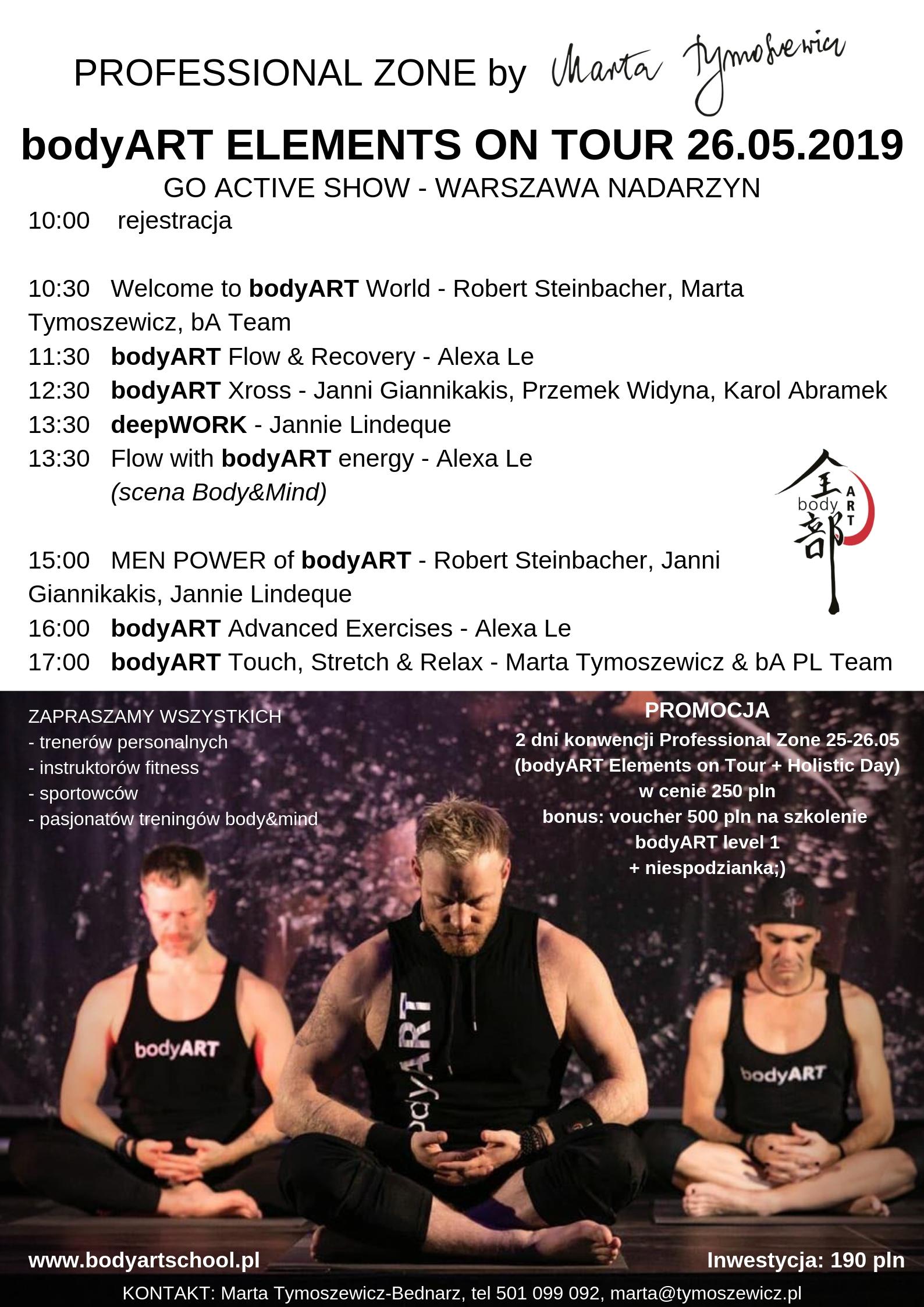 bodyART Elements on Tour 26.05.2019